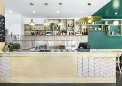 intérieur restaurant franco asiatique Berri ambiance reposante intimiste cosy décoration voyage culinaire